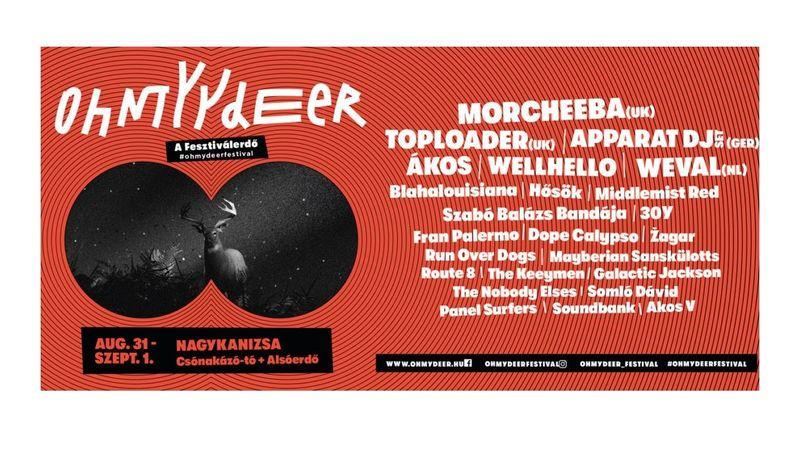 Új fesztivál született: a MORCHEEBA is fellép az Ohmydeer Festivalon