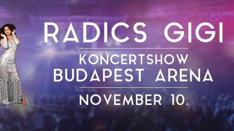 Elmarad Radics Gigi szuperkoncertje az Arénában