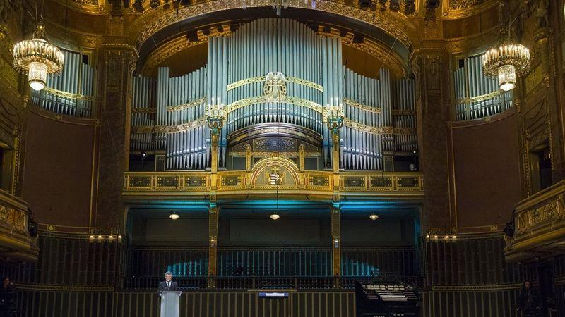 Több mint 50 év után, Liszt Ferenc születésnapján szólalt meg a Zeneakadémia felújított orgonája