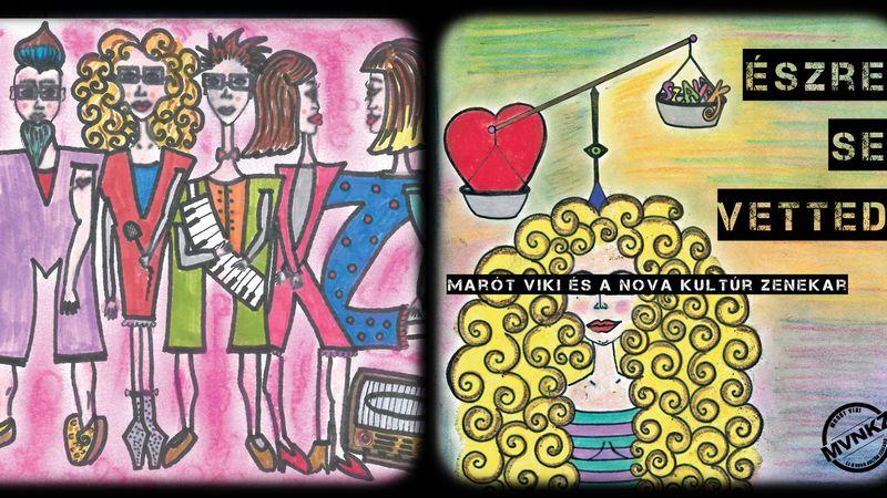 Marót Viki és kisfia rajzolták a lemezborítót