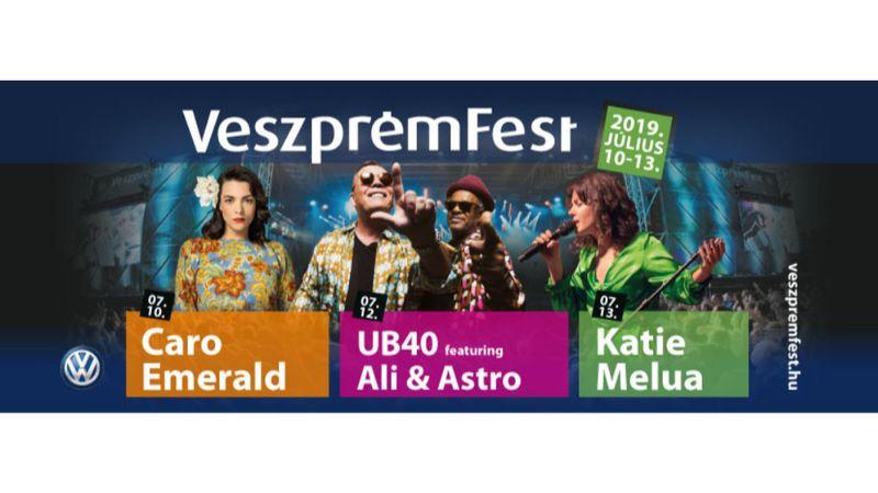 Caro Emerald, UB40 és Katie Melua a Veszprémsten jövő nyáron!