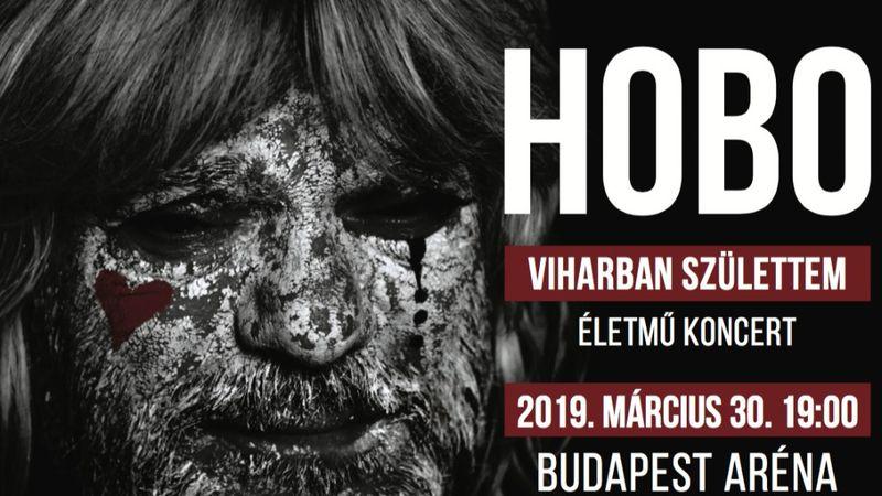Életműkoncertet ad Hobo az Arénában