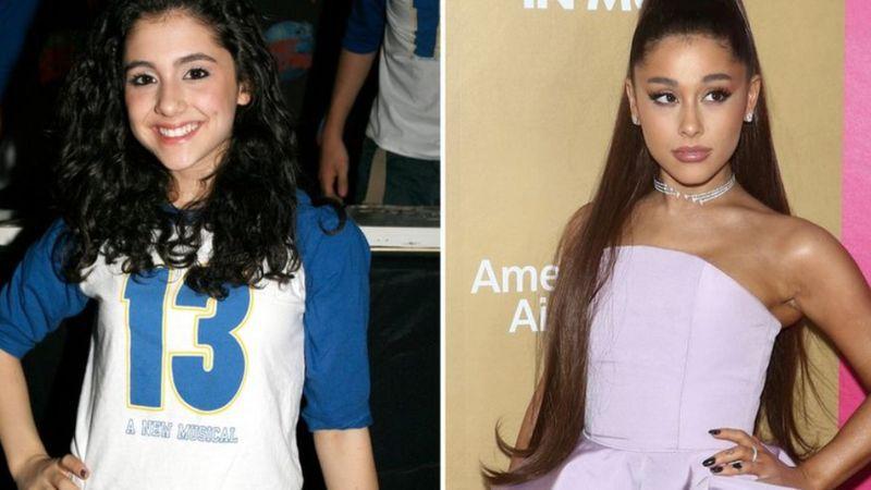 Van, akinek mások készítitk el a kíhívásos fotóit, Ariana Grande-ról számos párosítás fellelhető, ez a BBC-é