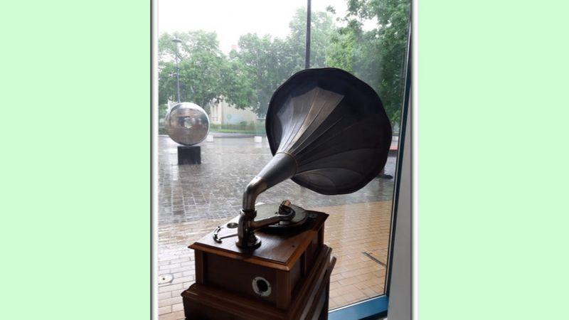 Elkészültek a százéves gramofon restaurálásával