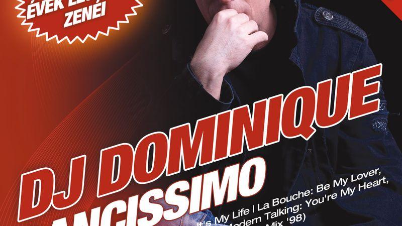 Dj Dominique elkészítette Dancissimo 2010 című lemezét!