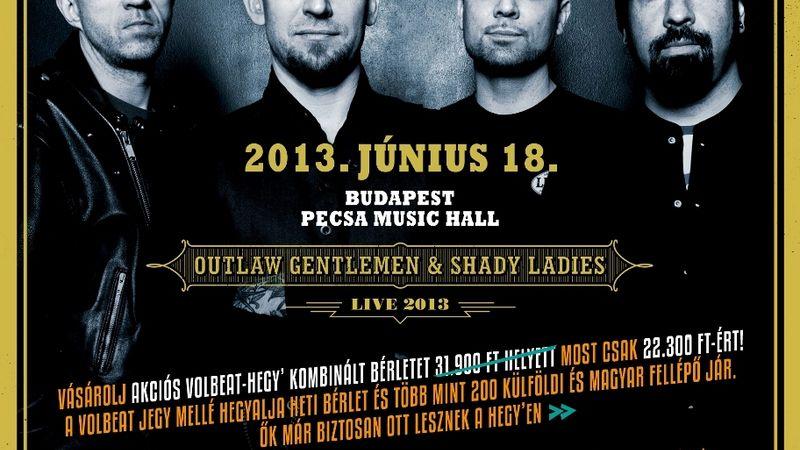 Volbeat újraHEGYezve