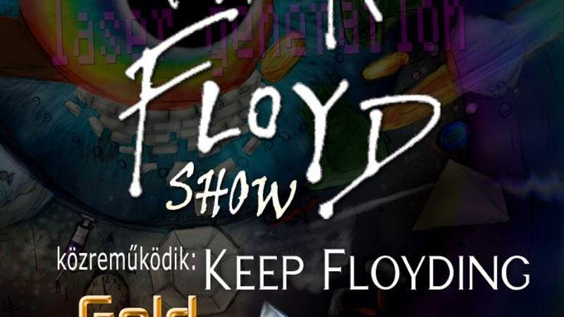 A lézer show igenis él! - Pink Floyd-buli a MOM-ban
