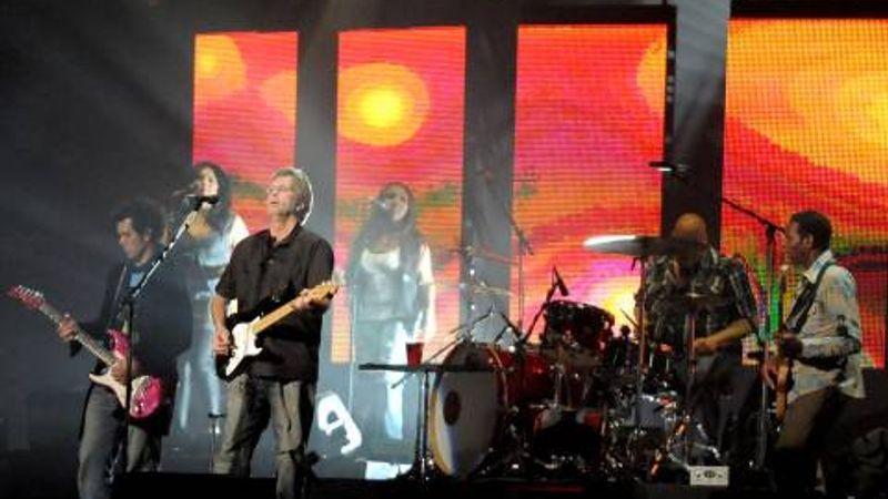 Elmaradt a bécsi Eric Clapton-koncert