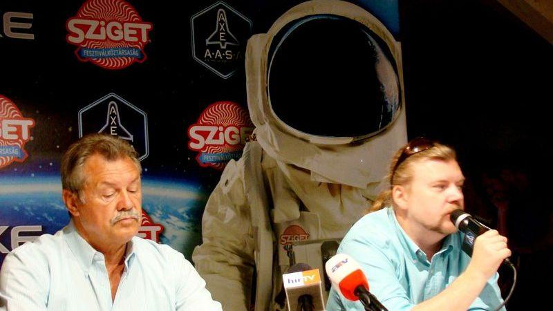 Űrkiképző központ a  Szigeten - és ez nem vicc