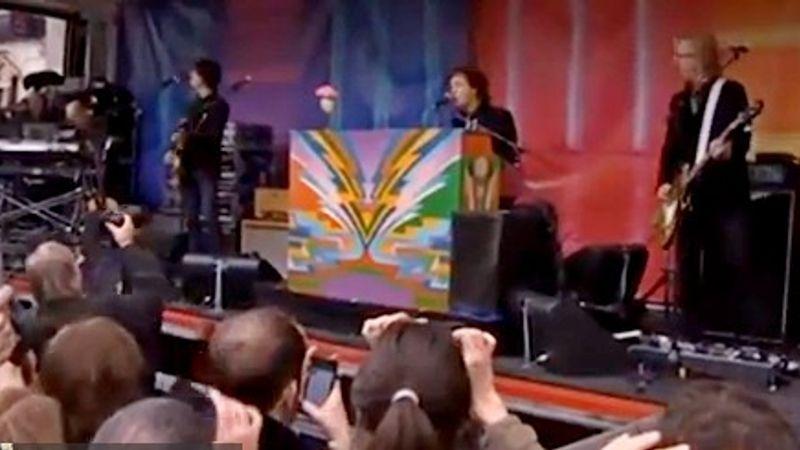 Paul McCartney pop-up koncertet adott Londonban
