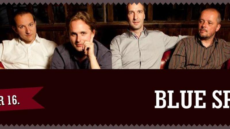Komor téli estékre lazulós blues - Blue sPot koncert a GMK-ban