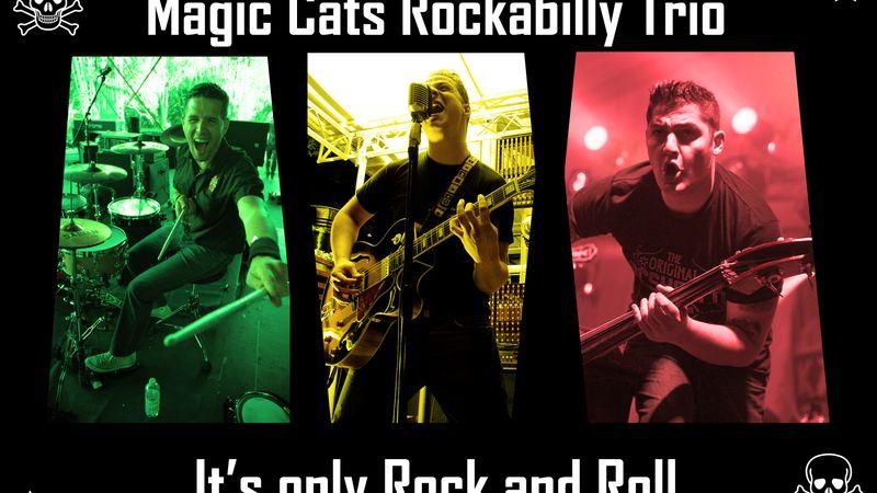 Szétröhögött interjú a Magic Cats Rockabilly Trióval