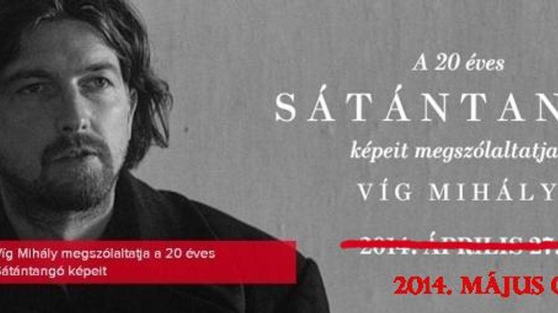 Sátántangó Víg Mihállyal a Hajón