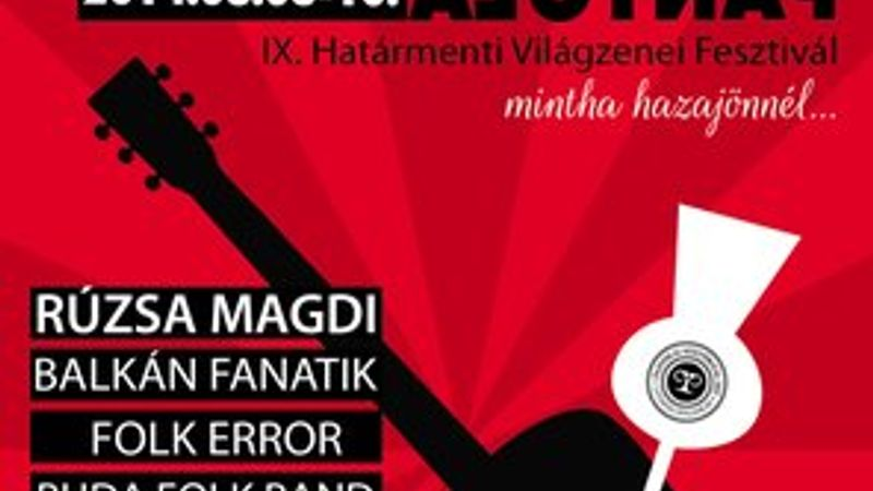 Nem csak a pálinka: Világzenei fesztivál lesz Panyolán