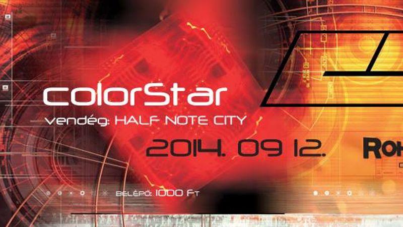 Klippremier duplán: ColorStar és Half Note City a RoHAMban