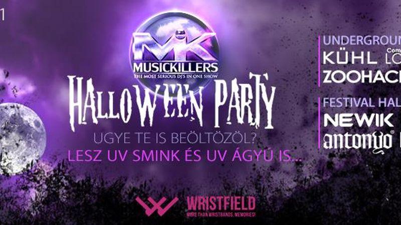 Music Killers Halloween Party az Akváriumban