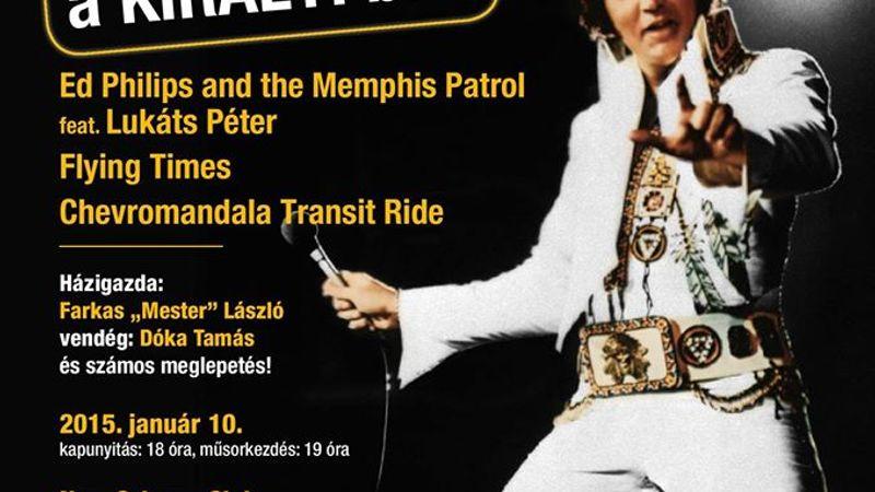 Bazinagy Elvis-buli a Király 80. szülinapja tiszteletére