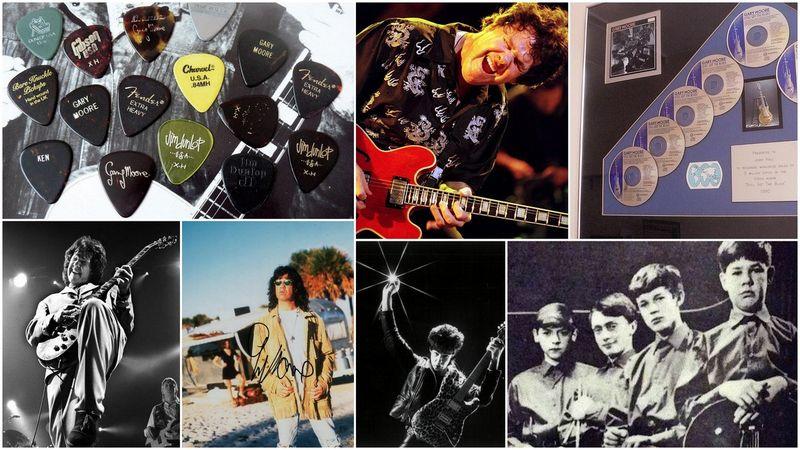 Gary Moore Emlékkiállítás a Rockmúzeumban