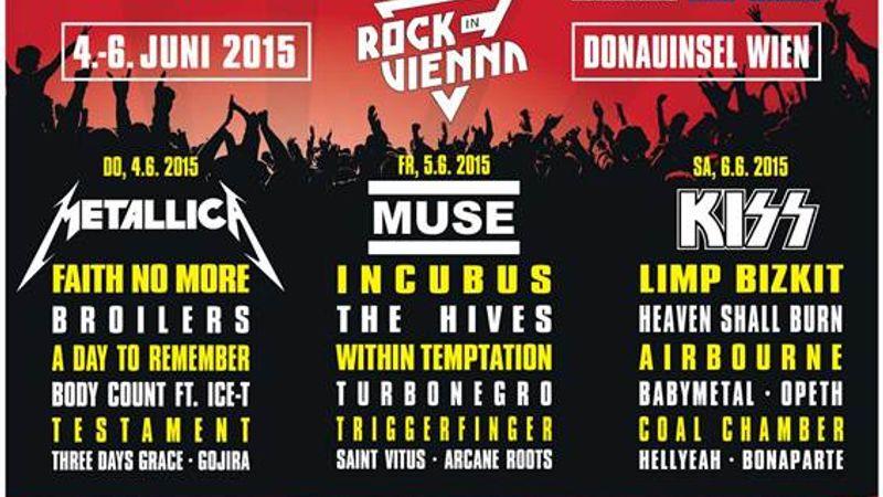 Hogyan kell fesztivált csinálni? Hát így: Rock in Vienna 2015.