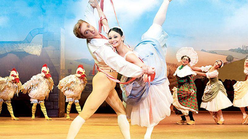 A balettirodalom egyik legvidámabb előadása a Vigadóban