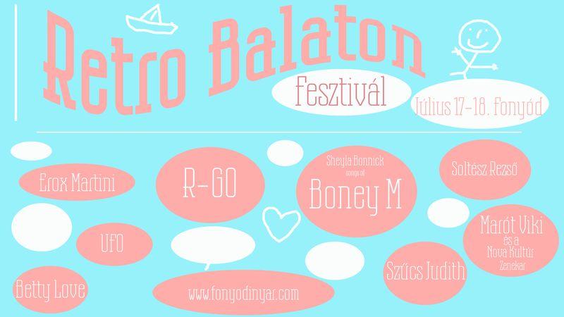 Világsztárok és legendák Fonyódon: Retro Balaton Fesztivál