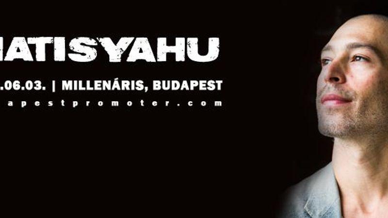 Ismét Budapestre jön a haszid reggae királya, Matisyahu