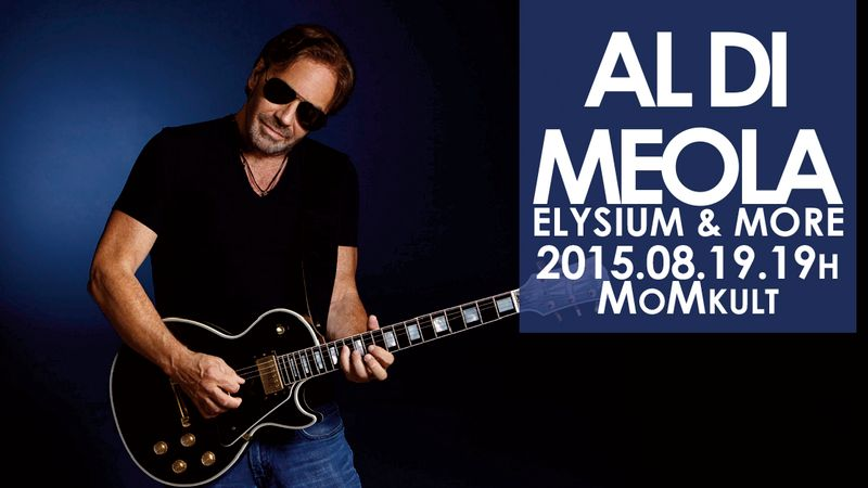 A tökéletes hely a boldogságra: Al Di Meola-koncert a MoM-ban