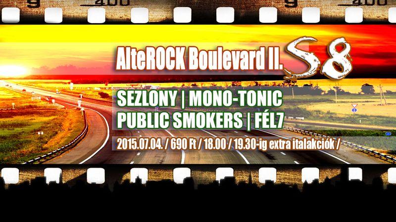 AlteRock nagygyűlés az S8-ban