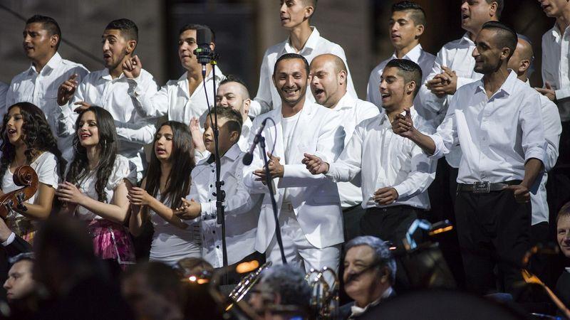 Roma telepeken adnak koncertet a Cseh Filharmónia muzsikusai