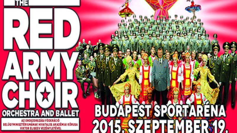 Popdalokat éneklő orosz katonák Magyarországon