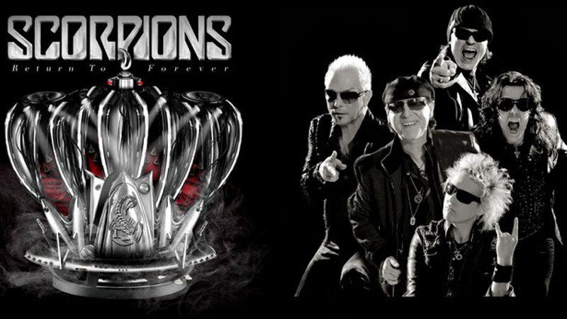 A Scorpions februárban Budapesten is jubilál