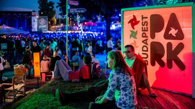 A Budapest Parkban még tombol a nyár
