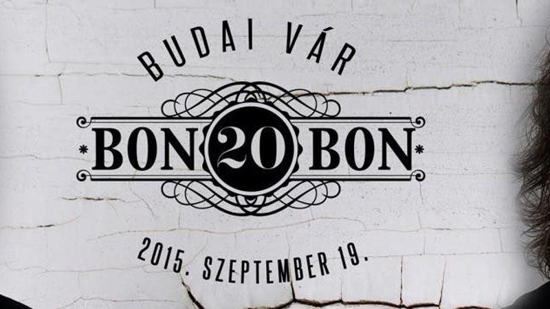 20 éves lett a Bon Bon - jubileum vendégekkel a Budai Várban