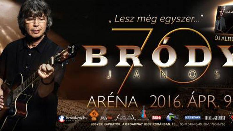 Bródy, a rezignált nyugger: 70. születésnapi koncert és új lemez jövő áprilisban