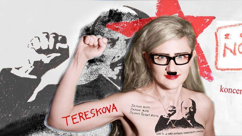 Tereskova utoljára a színpadon!