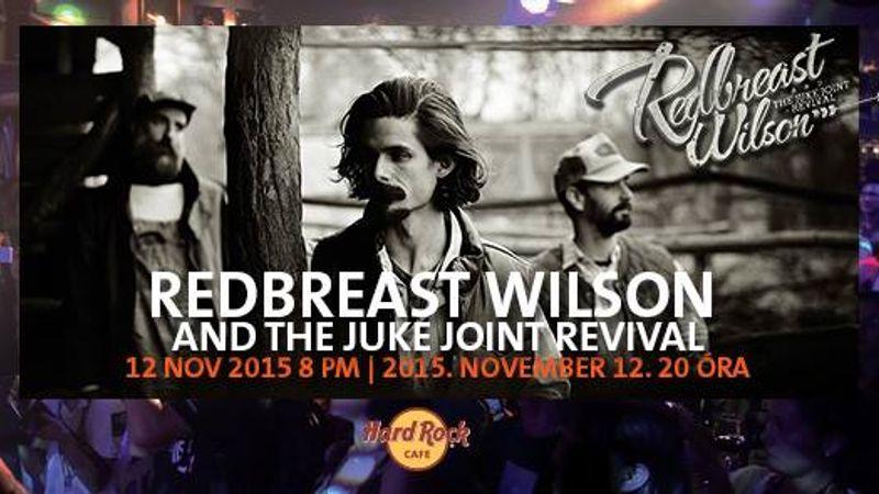 Ingyenes Redbreast Wilson koncert a Hard Rock Cafe-ban
