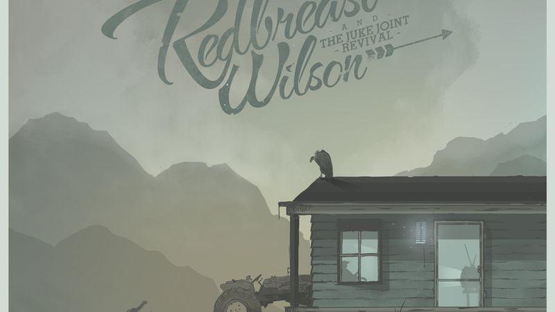 Kamionos sapka, ölbe tett gitár, réz slide-gyűrű: Redbreast Wilson & The Juke Joint Revival