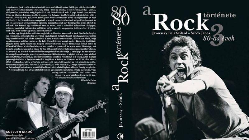 Madonnától a Red Hot Chili Peppersig: könyv a 80-as évek rockzenéjéről