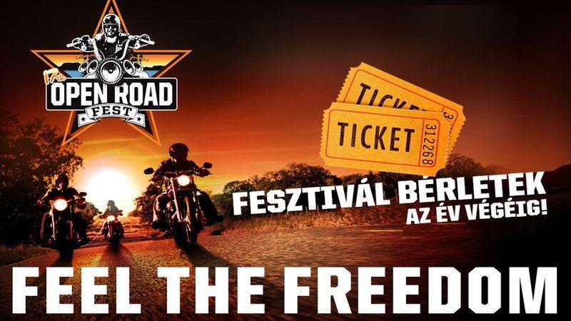 Motoros fesztivál lesz jövőre is: Open Road 2016!