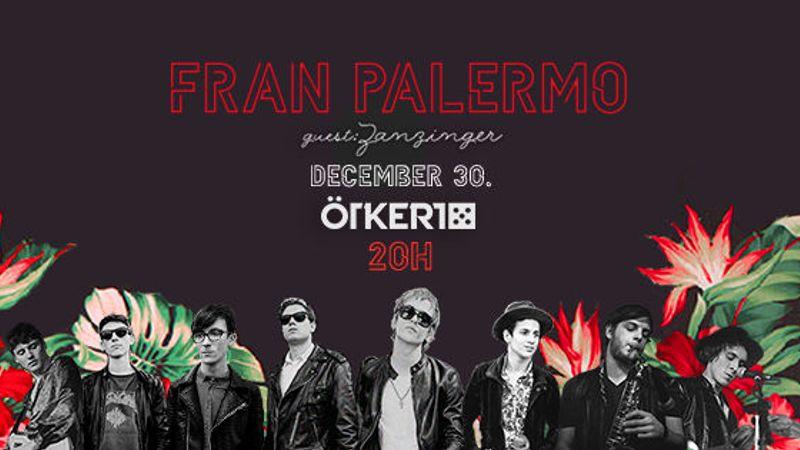 Exkluzív évzáró koncertet ad a Fran Palermo