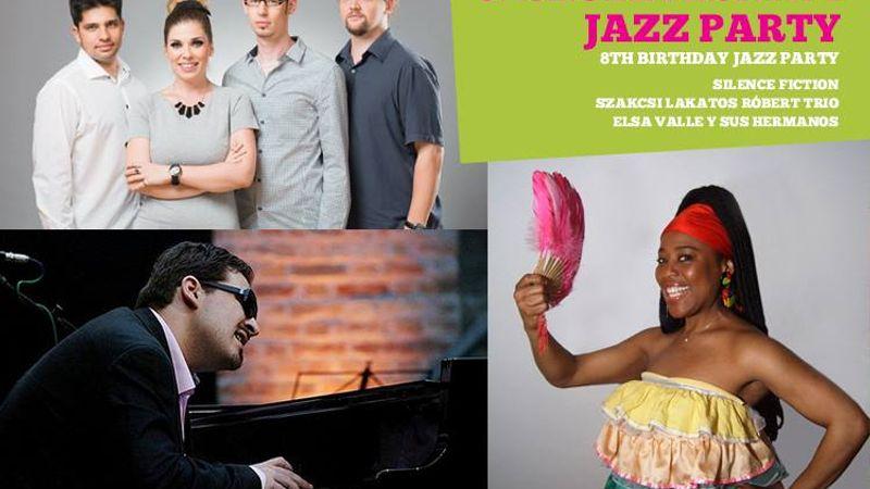 Szülinapi partival ünnepel a 8 éves Budapest Jazz Club