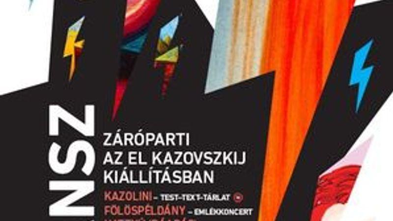 Koncertek, tánc, performansz az El Kazovszkij-kiállítás finisszázsán