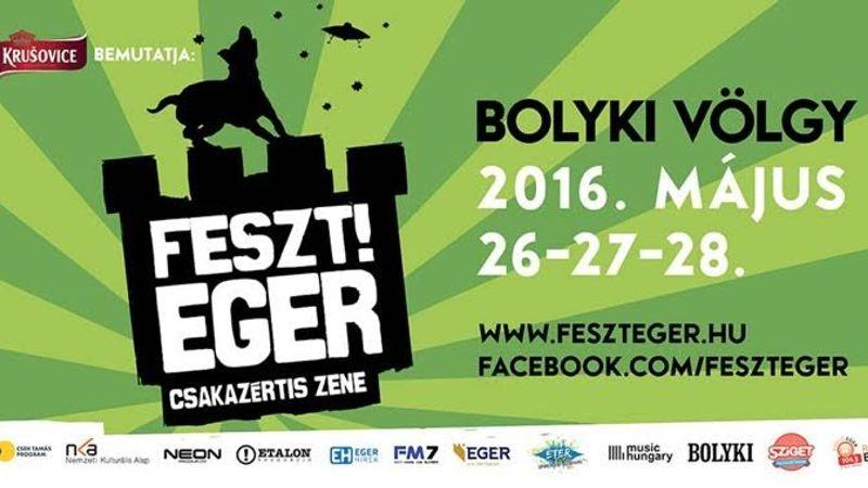 A 2016-os fesztiválszezon ismét a FESZT!EGER-rel indul