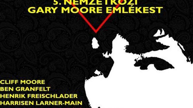 Gary Moore-emlékest az A38 Hajón