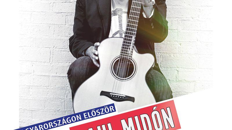 Először Magyarországon a gitárvirtuóz Raul Midón