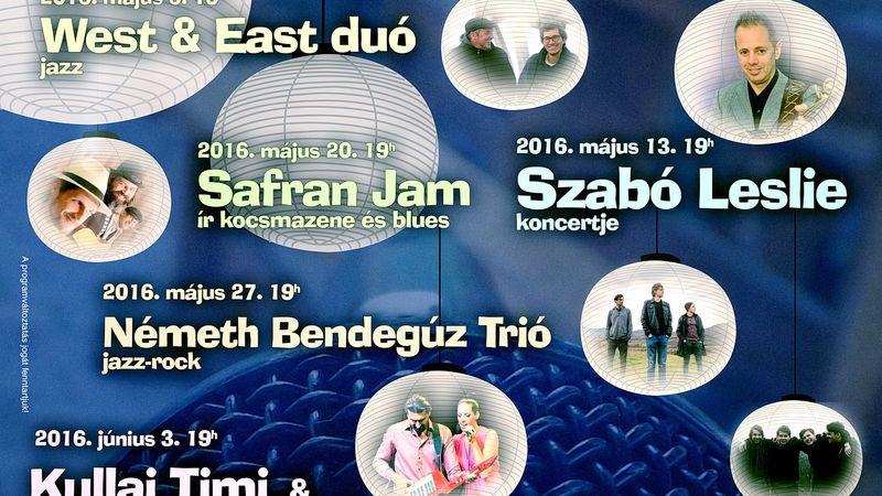 Nyáresti koncertek a Lampionos Kertben