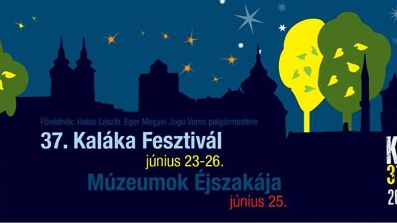 A Múzeumok éjszakájával közösen rendezik a Kaláka Fesztivált Egerben