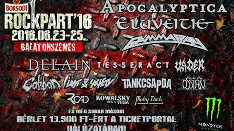 Jövő héten startol a Borsodi RockPart!