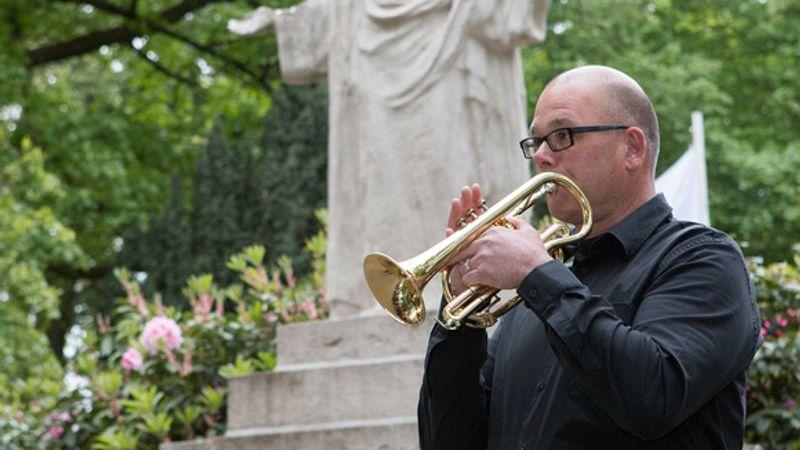 Koncertet adott egy belga fúvószenekar a kórházban