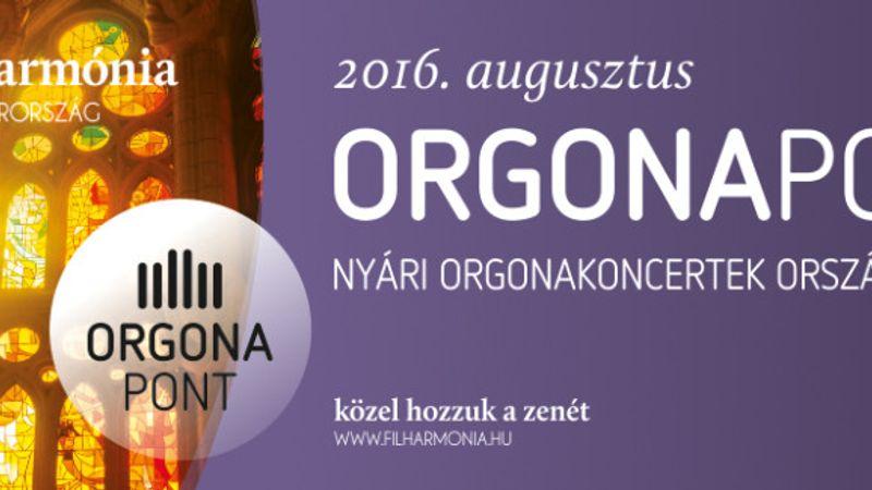 OrgonaPont koncertek augusztusban 13 helyen